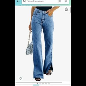 90's style flare jeans medium Y2K